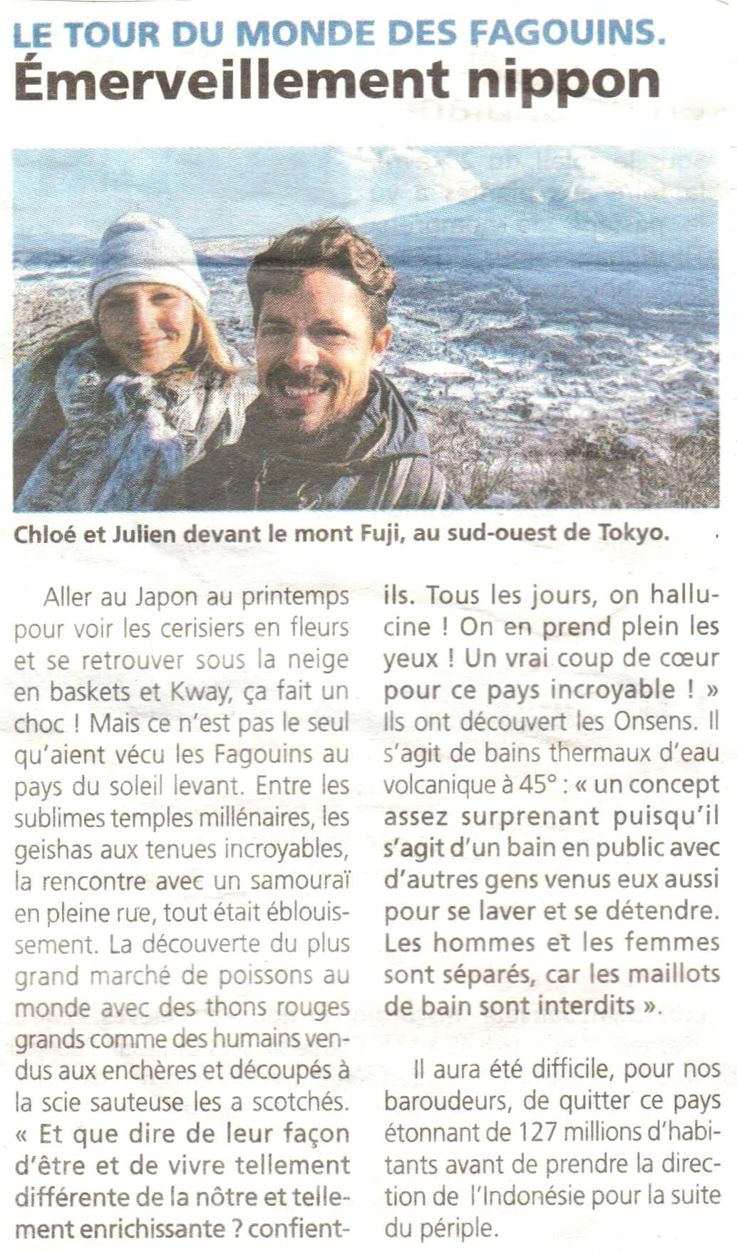 article pays yonnais japon